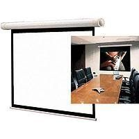 "Draper Salara M, AV Format Manual Wall or Ceiling Mounted Projection Screen, 70"" x 70"", 99"" Diagonal, Fiberglass Matte White. by Draper Inc. $261.87. In your home or office, the Salara Series makes a design statement. The Salara's small, elliptical case and domed endcaps are fi nished in solid white, no need to hide it with extra carpentry work. Quick and easy installation! Mounts to the wall with floating brackets which can be positioned along the back of the case. The resul..."