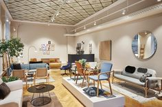 Swedese showroom Stockholm, Brunkebergstorg.