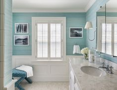 Teal bathroom ideas turquoise bathroom ideas cottage bathroom with turquoise and wainscoting grey turquoise bathroom ideas turquoise bathroom ideas light Teal Bathroom, Bathroom Interior Design, Trendy Bathroom, Blue Bathroom Accessories, Teal Bathroom Decor, Bathroom Wall Decor, Beach Bathrooms, Cottage Bathroom, Bathrooms Remodel