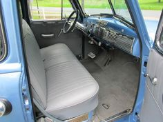 51 chevy truck interior | 1951 51 Chevrolet Chevy 3100 Pickup Truck 5 Window Deluxe Cab - Air ... Vintage Pickup Trucks, Old Pickup, Chevy Pickup Trucks, Classic Chevy Trucks, Chevy Pickups, Chevrolet 3100, Chevrolet Trucks, Trucks Only, Cool Trucks