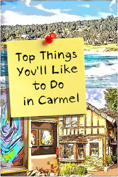 Top 11 Things to Do in Carmel, California A few things you really must do when you visit Carmel by the Sea.A few things you really must do when you visit Carmel by the Sea. Carmel California, Monterey California, California Vacation, California Dreamin', Northern California, California Camping, San Francisco, San Diego, West Coast Road Trip