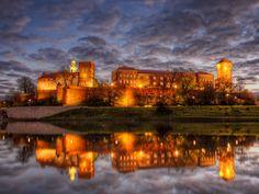 Burg Wawel Krakau im Polen Reiseführer http://www.abenteurer.net/2700-polen-reisefuehrer/