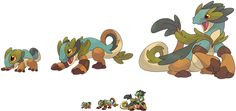 Fakemon - Grass Starter by Feyrah on deviantART