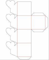 Resultado de imagen para moldes cajas de carton decoradas