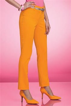 Sateen-Ankle-Pants