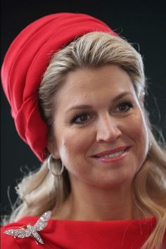 Queen Maxima of the Netherlands at the Fischautkionshalle during their state visit on 20.03.2015 in Hamburg, Germany