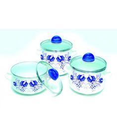 Набор эмалированной посуды Маруся - Эмаль 2 л/3 л/4 л