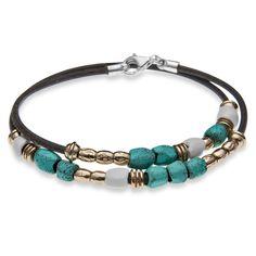 PLATADEPALO | Wolf & Badger #silver #bronzebracelet #turquoise
