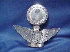 1920s Antique OLDSMOBILE Boyce Moto Meter WINGED Hood Ornament Radiator FLIP Cap