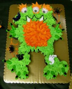 Karen B's Cooking Made Easy!: Monster Cupcake Cake