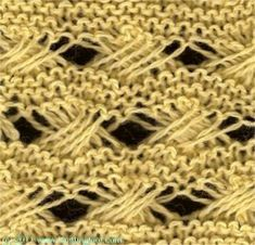 Indian Cross - Knittingfool Stitch Detail