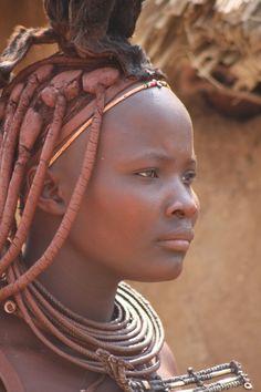 Himba woman.