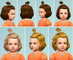 Birkschessimsblog: Toddler ClipHair • Sims 4 Downloads