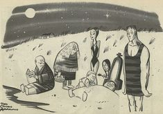 horrorandhalloween:by Charles Addams