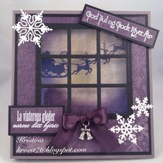 Kristinas kortblogg: Lilla vinduskort