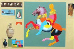 horses roberto talignani painter