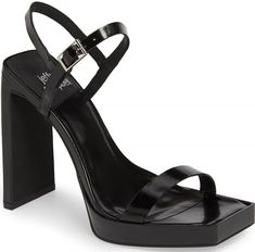 A sharply blunted toe and a perfectly flat wall heel bring smart geometries to a sandal styled to angle up the look of any ensemble at any occasion. Galaxy Converse, Converse Chuck, Next Shoes, Women's Shoes, Hot Heels, Grunge Fashion, Grunge Outfits, Platform Boots, Sexy Feet