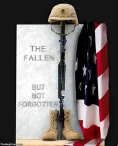 Remember those that gave their lives for your freedom.