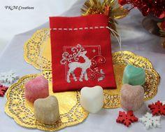 Fragrant Satchel - White Reindeer, AU$15.00