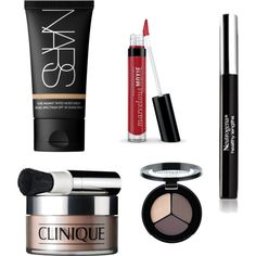 """""""my makeup"""" by catiegrusin on Polyvore"""