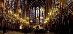 Visit the Sainte-Chapelle, Paris. Book a classical music concert at night, BEST experience you'll ever have, even if not religious :)