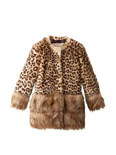 Monnalisa Kid's Faux Fur Coat at MYHABIT