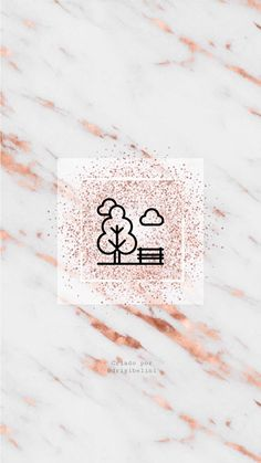 Instagram Logo, Instagram Story, Rose Gold Marble Wallpaper, Glitter Rosa, Instagram Highlight Icons, Story Highlights, Cover, Place Card Holders, Graphic Design