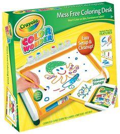 Crayola Color Wonder Mess Free Coloring Desk Crayola http://www.amazon.com/dp/B00CI6J5KK/ref=cm_sw_r_pi_dp_1OwXtb121CF50FAS