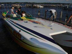 Blarney Island Go Fast Boat!
