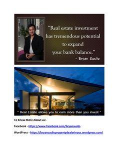 Bryan susilo   investor in real estate by Bryan Susilo via slideshare