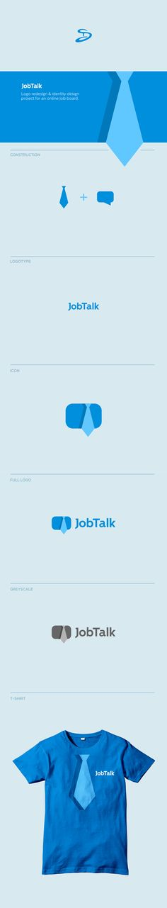 Jobtalk Logo Presentation on Behance