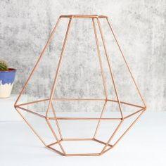 Lisa Angel - Geometric Copper Lamp Shade