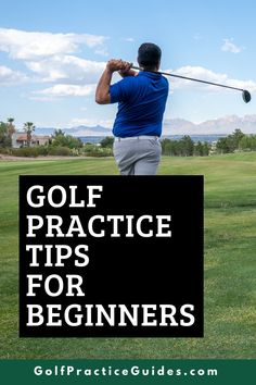 Learn how to start off a new golf season with the right practice tips and golf drills to improve your putting, chipping, and driving skills off the tee so you can quickly shake off winter rust and start playing your best golf early on in the golf season. Click to read the blog golf tips at GolfPracticeGuides.com #golftips #golfcourse #golfcart #golfballs