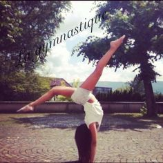 Photo de la page facebook La gymnastique...Aimez! <3