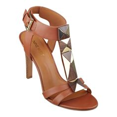 Nine West: Emogen Open-Toe T-Strap Sandals