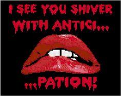 Rocky Horror Inspired Cross Stitch PATTERN by KnerdlyKnits on Etsy, $5.00