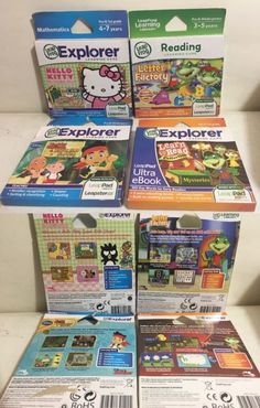 Game Cartridges and Game Books 177916: 4 Leapfrog Explorer Games Lot Reading Learning Mathematics Brand New. -> BUY IT NOW ONLY: $34.95 on eBay!