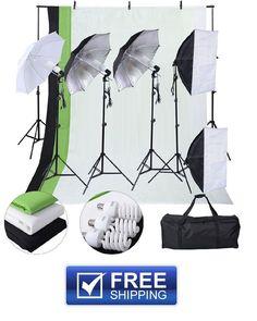 LED Photography Lighting Kit 600 Watts Pro Photo Video Light Boom Softboxes | Common Shopping | Pinterest | Photography lighting kits Video lighting and ...  sc 1 st  Pinterest & LED Photography Lighting Kit 600 Watts Pro Photo Video Light Boom ... azcodes.com
