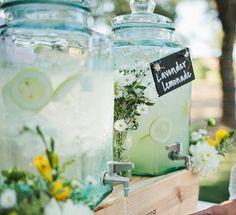 Nerissa Eve Weddings drinks dispenser hire