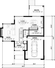 L Shaped House Plans, Small House Plans, Helsinki, Cool Room Designs, Contemporary House Plans, Architect Design, Prefab, Architecture, New Homes