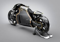 lotus introduces their first motorcycle: the C-01 road ready