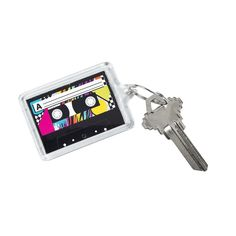 Awesome+80s+Theme+Picture+Frame+Key+Chains+-+OrientalTrading.com
