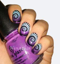 #nailart #nails #mani http://www.siempre-lindas.cl/