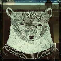 karhu, maalitussi-pattern esimerkki