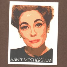 MOMMIE DEAREST Mother's Day CARD & Magnet Set by seasandpeas, $4.00