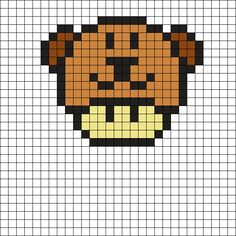 Mushroom Bear by X_EllaChay_x on Kandi Patterns