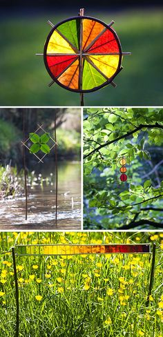 By Raleigh-Elizabeth. Before the snow comes and the leaves fade away, British land artist Richard Schilling sets off into the outdoors to make art from the natural beauty all around him. Leaves become stained glass, icicles become sculpture. These pieces only last a minute, but in that...