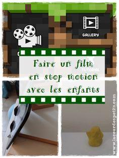 Faire un film en stop motion avec les enfants |La cour des petits http://www.lacourdespetits.com/faire-film-stop-motion/ Créer un film en stop motion avec les enfants est une super activité à faire en famille : écriture du scénario, mise en scène des jouets, prise de vue et montage ultra rapides avec une appli dédiée (et gratuite !).