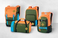 Dakine drops two nice, new, limited edition bag collections just in time for summer tripping.