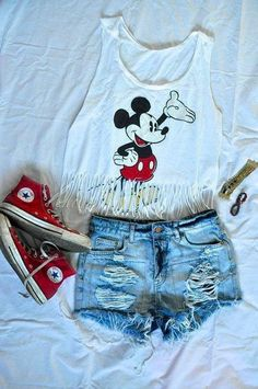 Mickey Mouse inspired look